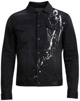 PRPS Paint Splatter Denim Jacket