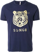 Sun 68 tiger logo T-shirt