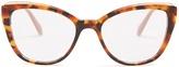 Miu Miu Cat-eye acetate glasses