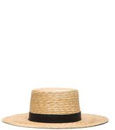 Janessa Leone Klint Hat in Neutrals.