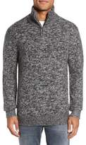 French Connection Quarter Zip Knit Pullover