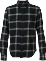 Paige checked button down shirt