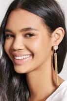 Forever 21 Faux Pearl Duster Earrings