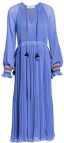Derek Lam 10 Crosby Nemea Pleated Midi Dress