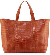 Nancy Gonzalez Large Crocodile Tote Bag