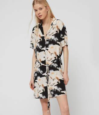 AllSaints Amia Talon Dress