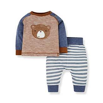 Mothercare Baby NB IP TOP and Jog 2PCS Set Tracksuit,Tiny (Size:50)