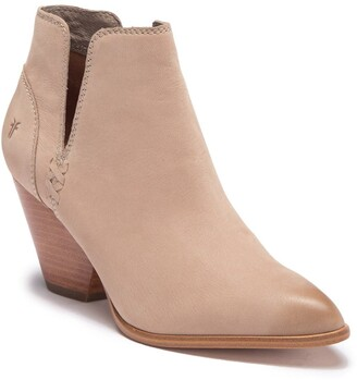 Frye Reina Leather Cutout Bootie