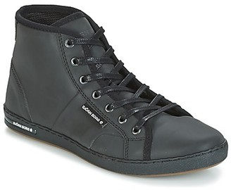 Bjorn Borg GINA MID REFL women's Shoes (High-top Trainers) in Black