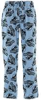 Briefly Stated Jurassic Park Men's Knit Pajama Pants