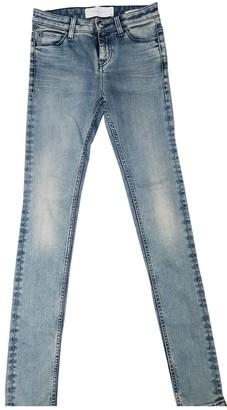 IRO Blue Cotton - elasthane Jeans