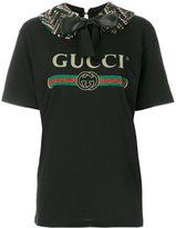Gucci printed T-shirt - women - Cotton - S