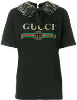 Gucci printed T-shirt - women - Cotton - XS