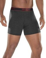 Champion Men's Underwear Active Performance Regular Boxer Brief 3-Pack