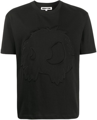 McQ embroidered crew neck T-shirt