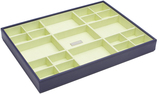 Wolf Large Standard Stackable Tray, Purple