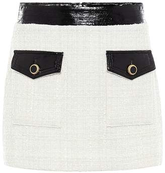 Veronica Beard Lucy boucle tweed miniskirt