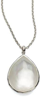 Ippolita Rock Candy Large Sterling Silver & Doublet Pendant Necklace