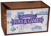 The Shepherd's Hut Vintage Wooden Toys And Games Box