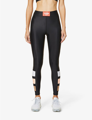 P.E Nation Cross Limits high-rise stretch-jersey leggings