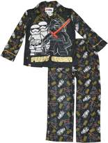 Star Wars Lego Boys 2-Piece Coat Pajama Set (4/5, Black)