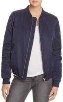 BB Dakota Atwood Satin Bomber Jacket - 100% Bloomingdale's Exclusive