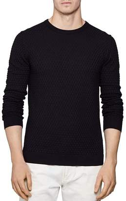 Reiss Randolf Stitch Interest Sweater