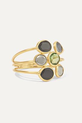 Pippa Small 18-karat Gold Multi-stone Ring - 7