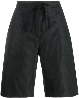 Christian Dior Pre-Owned Quilted Long Shorts