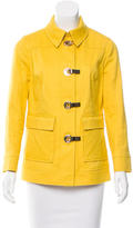 Tory Burch Long Sleeve Fitted Jacket