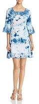Cupio Bell Sleeve Tie-Dye Dress