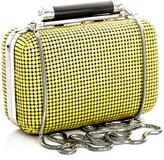 Diane von Furstenberg Small Tonda chainmail clutch