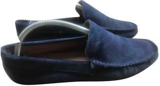 Cantarelli Blue Suede Flats