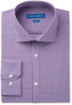 Vince Camuto Men's Slim-Fit Purple Gingham Dress Shirt