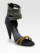 Rebecca Minkoff Mirra Suede Ankle Strap Sandals