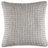 Nautica Grey Sweater Knit Pillow