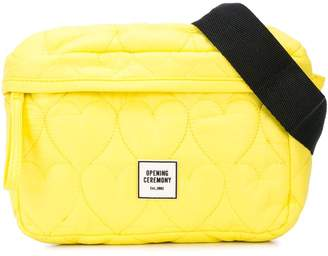 Opening Ceremony Heart quilted belt bag