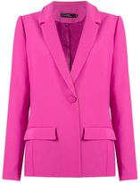 Andrea Marques - panelled blazer - women - Acetate/Viscose - 36