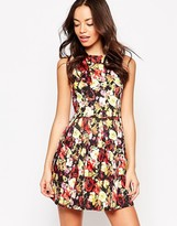 Motel Girly Dress in Cherry Blossom