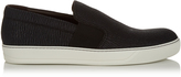Lanvin Low-top grained-leather trainers