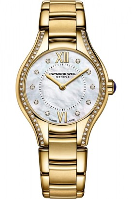 Raymond Weil Ladies Noemia 24mm Diamond Watch 5124-PS-00985