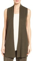 Eileen Fisher Women's Sleek Ribbed Tencel Vest