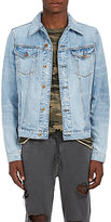 NSF Men's Distressed Denim Jacket