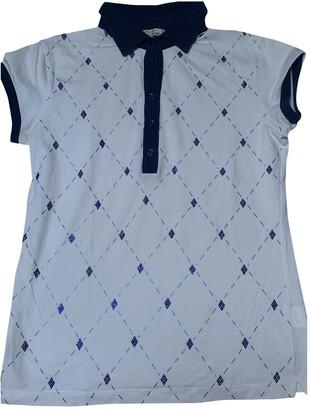 Ballantyne White Cotton Top for Women