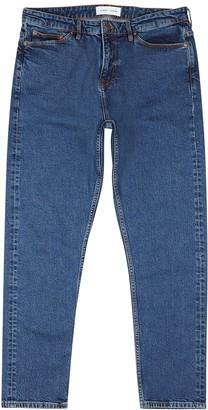 Samsoe & Samsoe Cosmo blue tapered-leg jeans