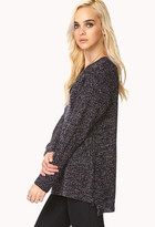 Forever 21 laid back zipper sweater
