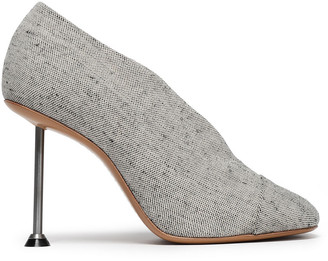 Victoria Beckham Refined Pin Glossed-leather Pumps