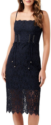 Forever New Emma Corset Front Lace Bodycon Dress