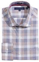 Tommy Hilfiger Checkered Regular-Fit Dress Shirt