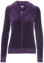 Juicy Couture Logo Velour Jc Laurel Robertson Jacket